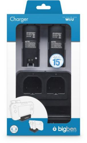 2+1 Charger incl. 2 Battery Packs - black
