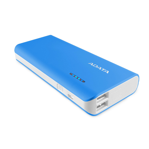 Adata Power Bank 10000 mAh blau/weiss Blau/Weiss