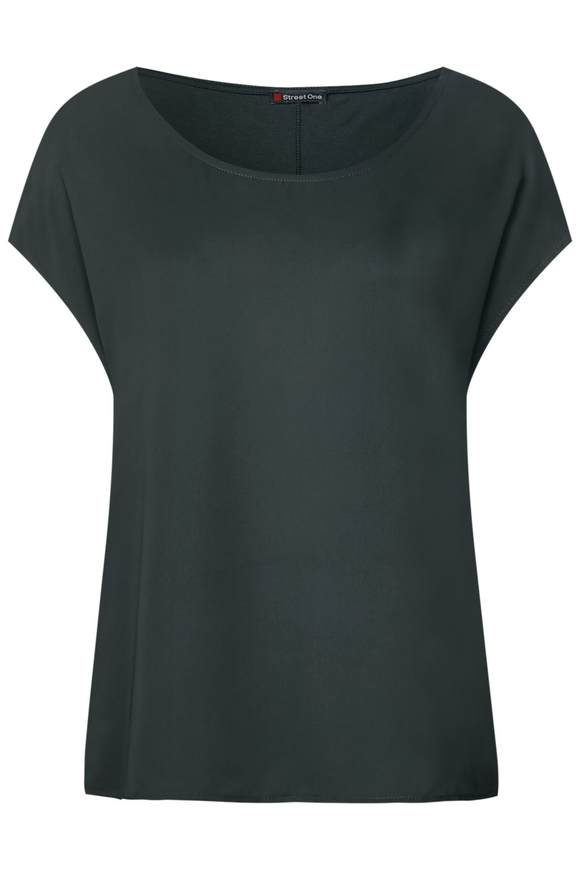 2in1 Chiffon Shirt - chilled green