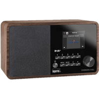 IMPERIAL Dabman i150 - Digitalradio (DAB+, FM, Internet radio, Braun)