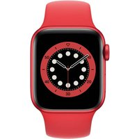 APPLE Watch Series 6 (GPS + Cellular) 40 mm - Smartwatch (130 - 200 mm, Fluorelastomer, Rot/(PRODUCT) Red)