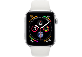 Apple Watch Serie 4 40mm GPS silver Aluminum White Sport Band Smartwatch