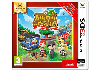 3DS - A.Crossing New Leaf Sel /D